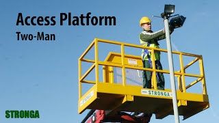 Stronga Two-man Access Platform 2300 - Tree lopping application