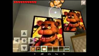getlinkyoutube.com-Minecraft pe fnaf mod!!! (Türkçe)