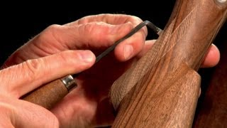 getlinkyoutube.com-Gunsmithing - How to Checker a Gunstock Presented by Larry Potterfield of MidwayUSA