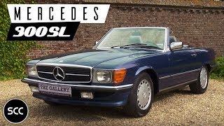 getlinkyoutube.com-MERCEDES-BENZ W107 300 SL 1986 - Modest test drive - Engine sound | SCC TV