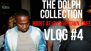 getlinkyoutube.com-The Dolph Collection - Night out at Jays Uptown Cafe! Vlog 4
