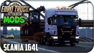 getlinkyoutube.com-Scania 164L + Interior | Euro truck simulator 2 | 1.15 -- 1.16