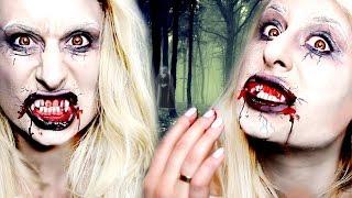 getlinkyoutube.com-WHITE VAMPIRE 🎃 HALLOWEEN 2016