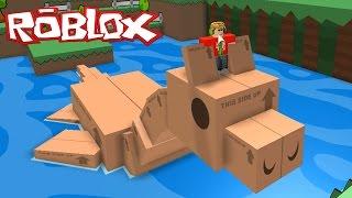 getlinkyoutube.com-Super Paper Roblox #1   Roblox Video