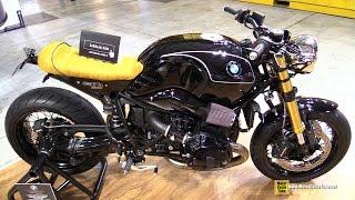 getlinkyoutube.com-2015 BMW R NineT Mr Martini with Zard 2x2 Exhaust Kit - Walkaround - 2014 EICMA Milan