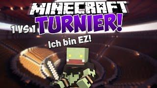 getlinkyoutube.com-Ich bin eZ! - Minecraft 1vs1 TURNIER | ungespielt