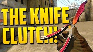 getlinkyoutube.com-THE KNIFE CLUTCH! - CSGO Funny Moments