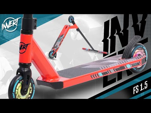 Invert FS1.5 Stunt Scooter - Chevron Red