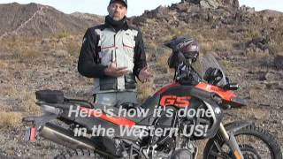 getlinkyoutube.com-Barstow to Vegas Dual Sport Movie - Part 1 - BMW R1200GS