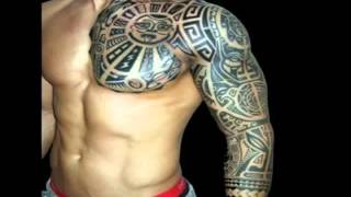 getlinkyoutube.com-Arm Tattoos For Men - Tribal Arm Tattoos Designs