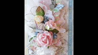 getlinkyoutube.com-Shabby Chic Botanical Tea Card Tutorial