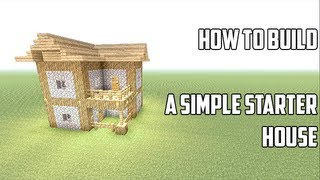 getlinkyoutube.com-Minecraft Xbox 360: How to Build Survival Starter House (Very Cool!) (Tutorial)