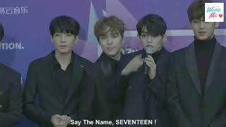 [Engsub] 180125 SEVENTEEN - Red Carpet @ 27th Seoul Music Awards 2018