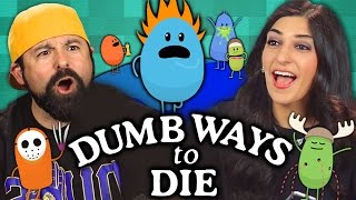 getlinkyoutube.com-DUMB WAYS TO DIE GAME (Adults React: Gaming)