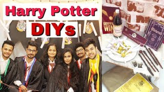 Harry Potter DIYs / Mridul Sharma
