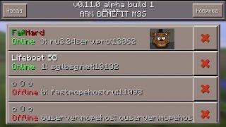 getlinkyoutube.com-Minecraft pe 0.11.0 | Игра на сервере с другом