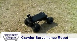 getlinkyoutube.com-SuperDroid Robots Crawler Surveillance Robot