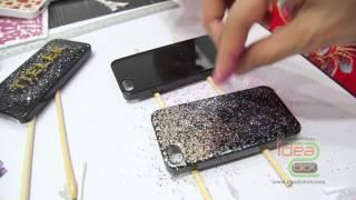 getlinkyoutube.com-การทำเคสเรซิ่น เคลือบนูน เคสกากเพชร DIY case โดย Idea2Click