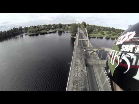Trial Bike Bridge Stunt   Antti Pendikainen