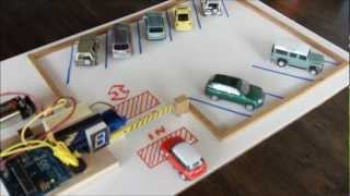 Arduino Parking Lot ( The Making )
