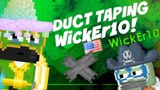 getlinkyoutube.com-Growtopia | Duct taping WickEr10