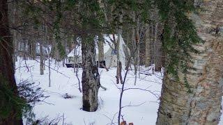 getlinkyoutube.com-Six days winter camping... solo
