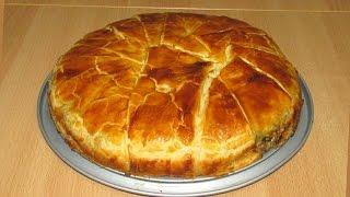 getlinkyoutube.com-Мясной Греческий Пирог - редкая вкуснятина! (Greek Meat Pie)