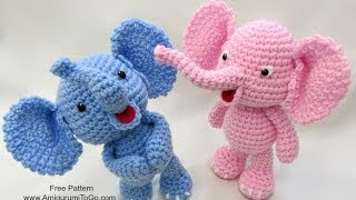 getlinkyoutube.com-Crochet Along Elephant