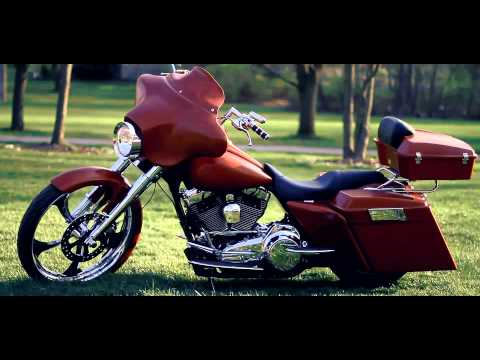 BAD ASS 26 inch CUSTOM HARLEY BAGGER  BAGGERTECH.COM