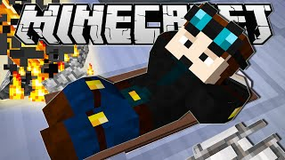 getlinkyoutube.com-Minecraft | CAMPING IN THE LAB!! | Custom Command