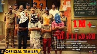 Visaaranai - Official Trailer | Vetri Maaran | G.V.Prakash Kumar | Dinesh | Dhanush