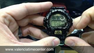 getlinkyoutube.com-Casio G-Shock Crocodile DW6900CR Series Review by Valencia Time Center