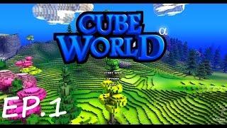 getlinkyoutube.com-Cube World ตอนที่1 : เล่นไงวะ