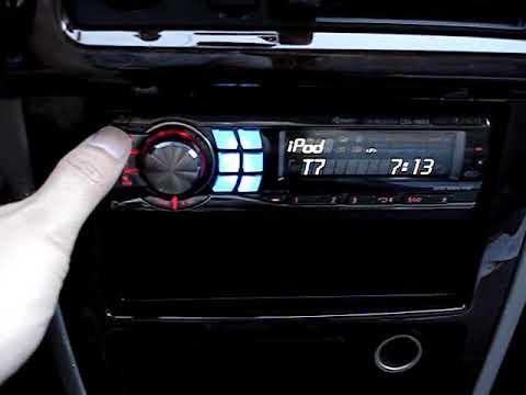 Alpine CDA 98Manual: Setting The Bluetooth. - ManualsLib