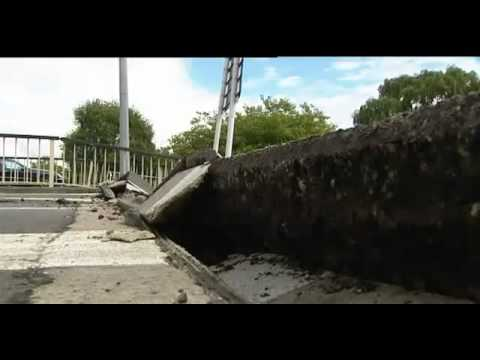 Christchurch Earthquake - Footage Of The Aftermath High Quality New Zealand