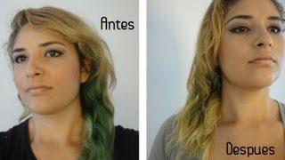 La caída de los cabello la tintura del pimiento de agua