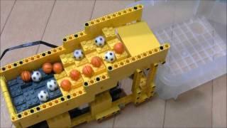 getlinkyoutube.com-LEGO GBC module Zigzag Stairs レゴ ジグザグ階段