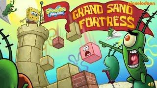 getlinkyoutube.com-SpongeBob Squarepants: Grand Sand Fortress (Playthrough, Gameplay)