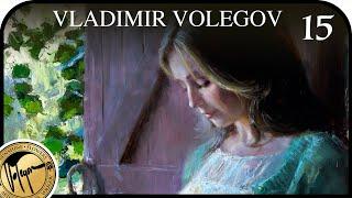 EMERALD PAINTING BY VLADIMIR VOLEGOV