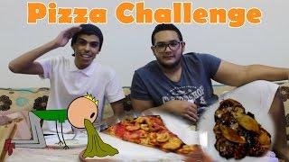 getlinkyoutube.com-تحدي البيتزا | بيتزا مع ايسكريم !! | Pizza Challenge