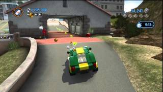 getlinkyoutube.com-Lego City Undercover [Part 19] - Epic Time Trial Races and Rewarding Free-Roaming Action!