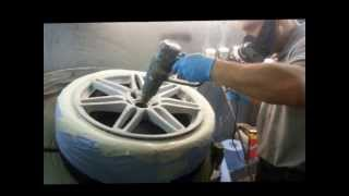 getlinkyoutube.com-Alloy Wheel Repair Refurbishment Northampton. Smart Alloy Northamptonshire.