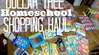 getlinkyoutube.com-Dollar Tree Homeschool Shopping Haul