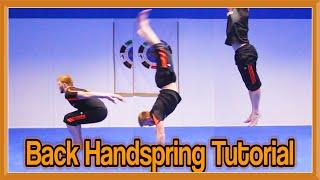 getlinkyoutube.com-Back Handspring (Flick) Tutorial | GNT