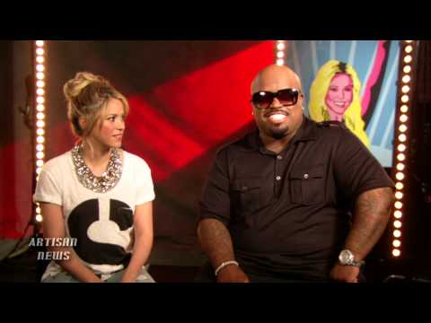 THE VOICE SEASONS COLLIDE AS CEE LO HELPS SHAKIRA