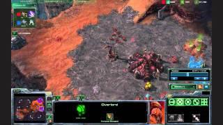 getlinkyoutube.com-SC2 Zerg Strategy - Fast Expand Ling Roach vs Bunker Rush to 4 Rax Marauder - Starcraft 2 Tutorial
