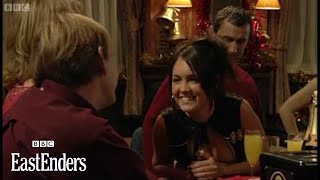 Christmas fights and kisses: Max, Stacey and Bradley part 2 - EastEnders - BBC