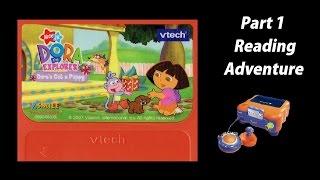 getlinkyoutube.com-Dora the Explorer: Dora's Got a Puppy (V.Smile SmartBook) (Playthrough) Part 1 - Reading Adventure