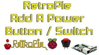 getlinkyoutube.com-RetroPie Add A Power Button / Switch Raspberry Pi 1 2 3