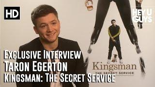 getlinkyoutube.com-Taron Egerton Interview - Kingsman: The Secret Service